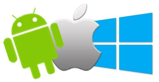 Windows 10 Android dan iOS