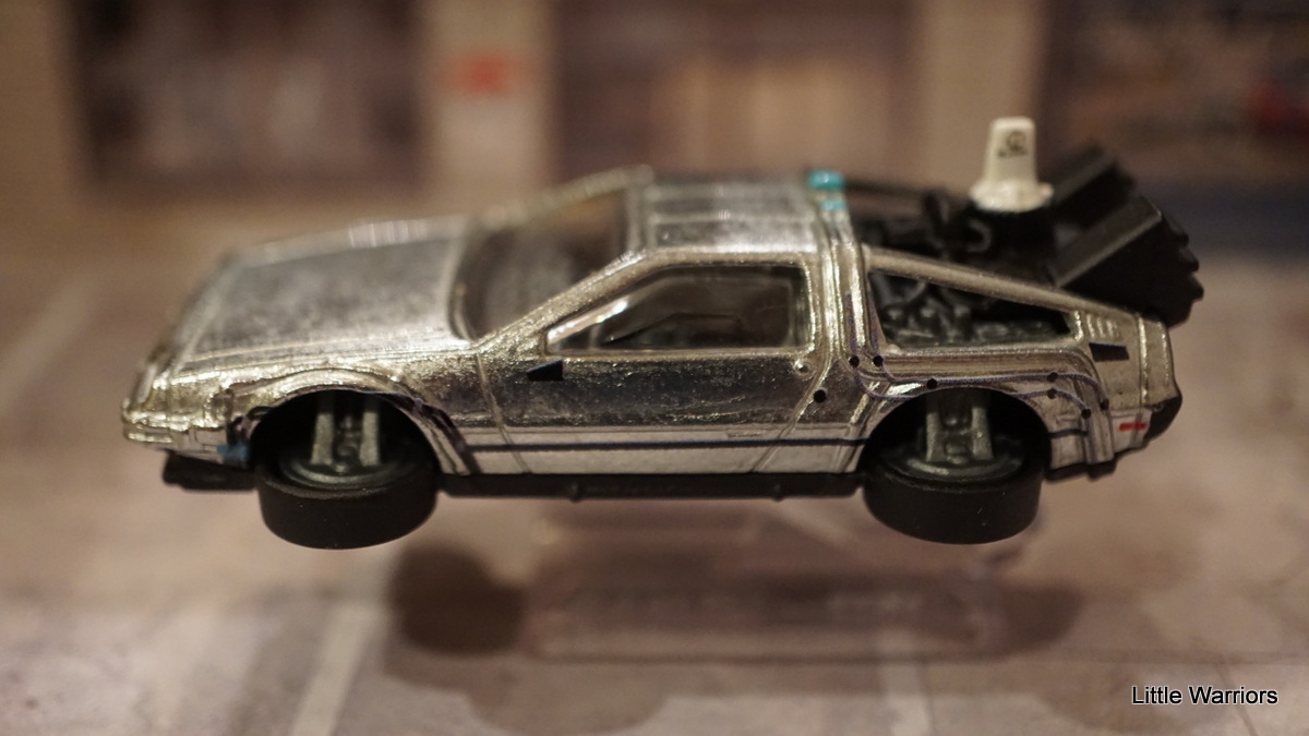 wheels delorean time machine