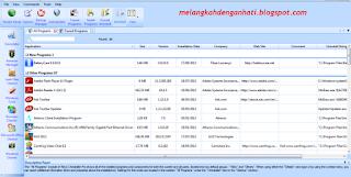 Menghapus program bandel dengan cepat dan mudah, Software gratis, Menghapus program dengan semua registry-nya