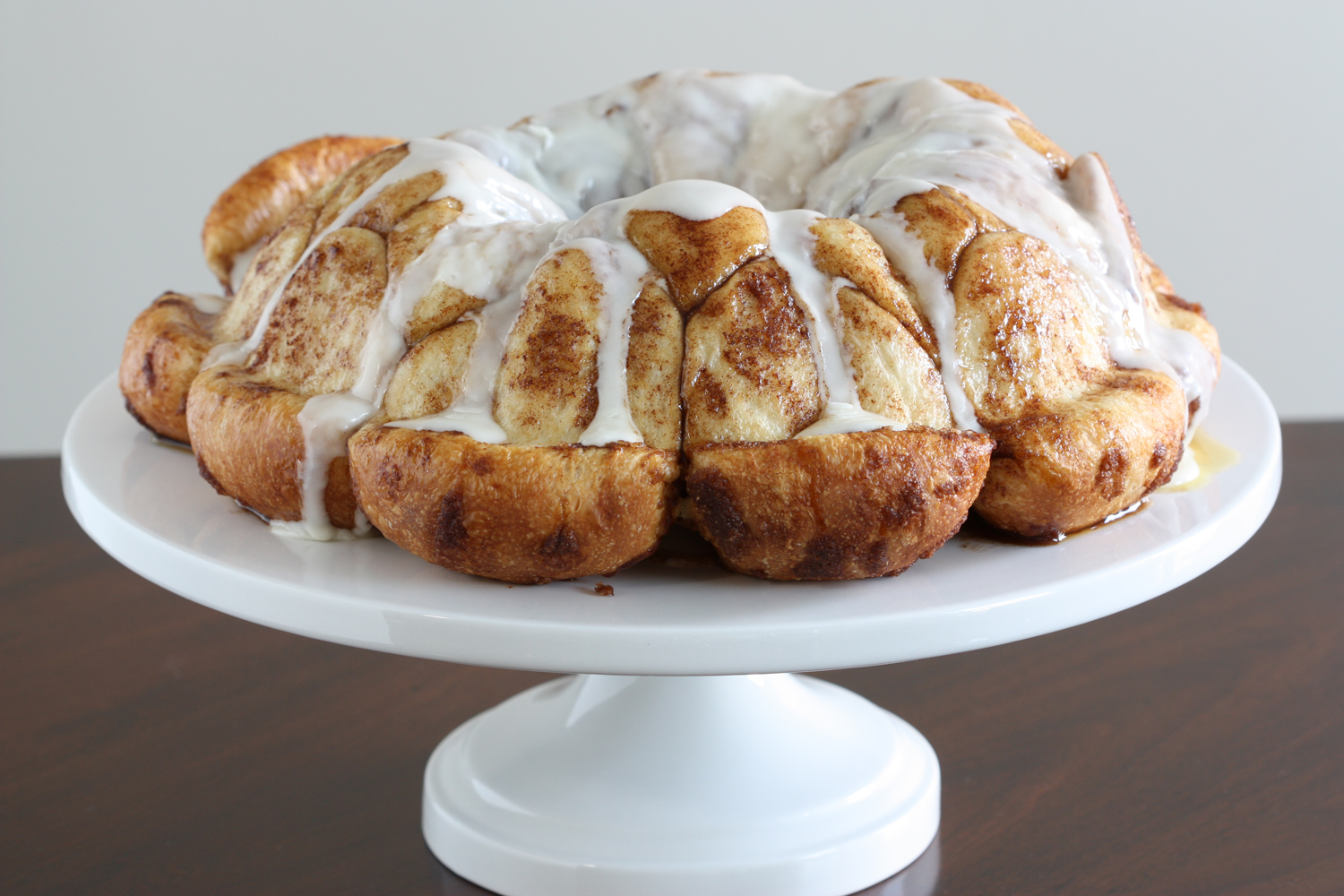 ... Winsome Girl: Overnight Monkey Bread with Cream Cheese Icing Glaze