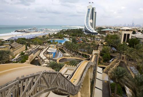 Toboágua Jumeirah Sceirah - Emirados Árabes- oitavo mais alto do mundo