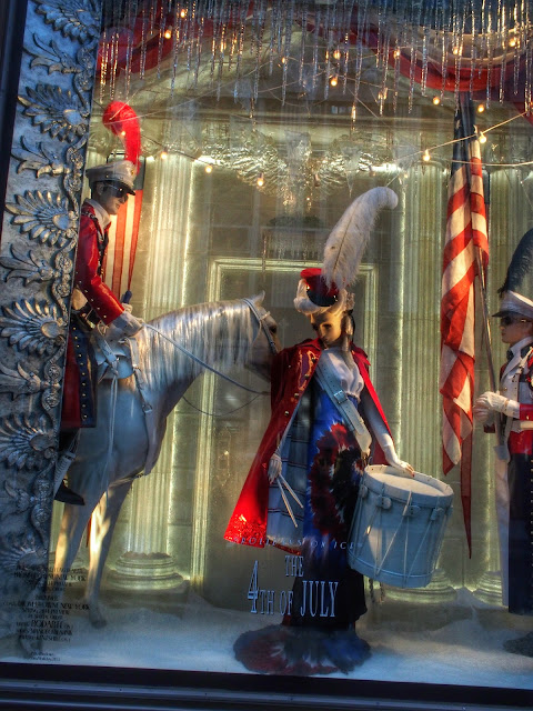 Born on the Fourth of July #BGWindows #holidaysonice NYC 2013