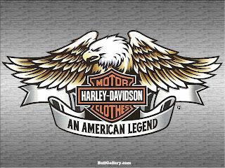 Harley Davidson Eagle Logo Silver