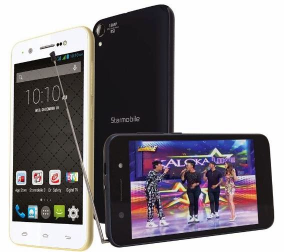 Starmobile Up Vision, 4.7-inch HD Quad Core with Digital TV for Php5,990