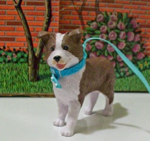 Spin Master Liv border collie 1:6 scale dog