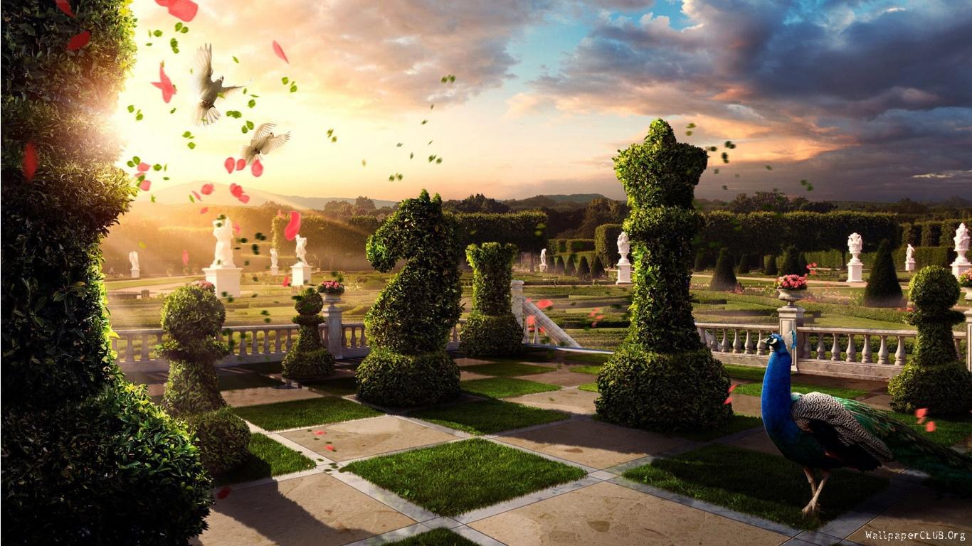 Magical World Fantasy Land Wallpaper