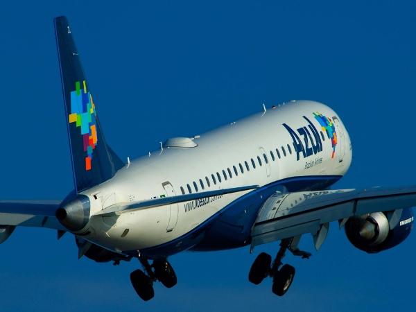 Azul anuncia troca de horários em Campina Grande