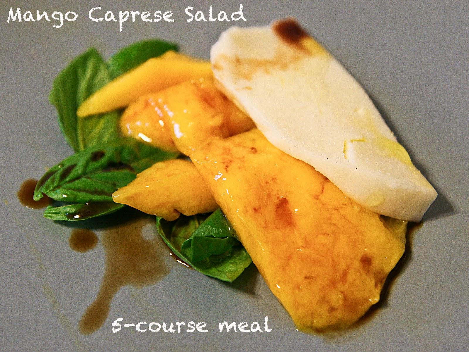 Turquoise and Lime: Mango Caprese Salad...3 ways