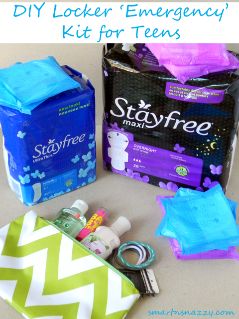 Stayfree Locker Emergency Kit Teens #shop #cbias #FreeToMove