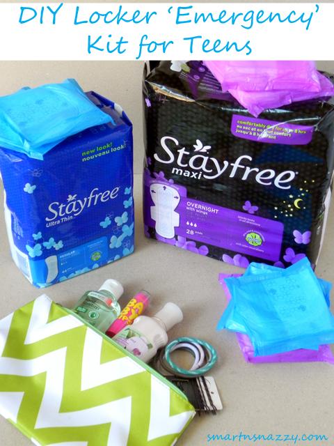 Stayfree Locker Emergency Kit Teens #shop #cbias #FreeToMove