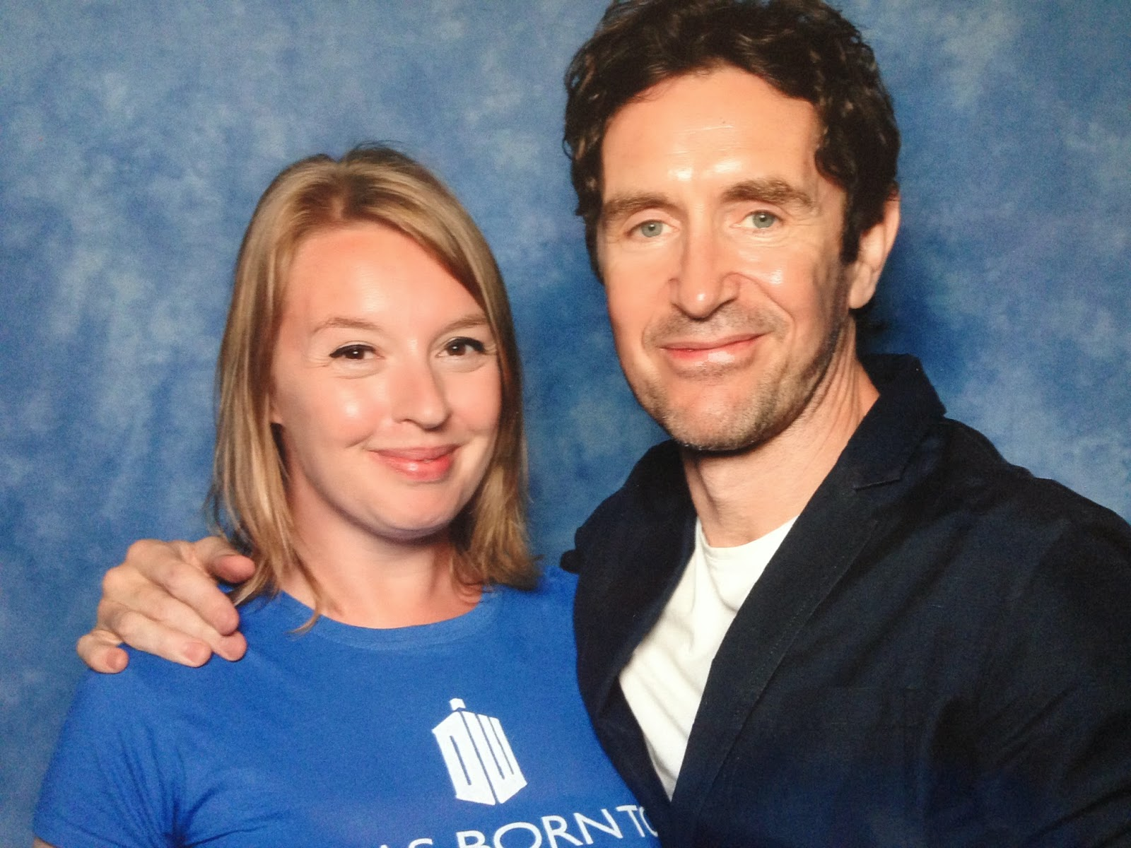 London film and comic con 2014 Paul mcgann