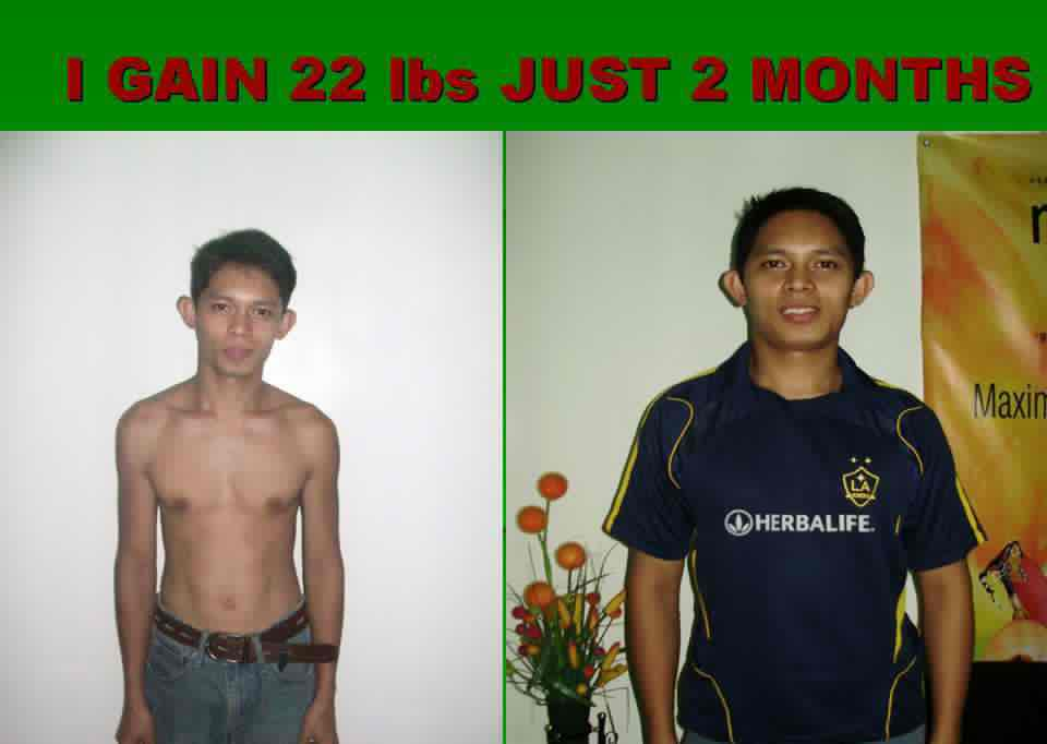 Jus untuk menambah berat badan