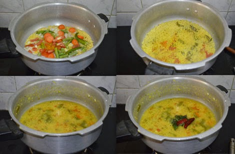 Quick sambar for idli dosa