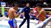 วิดีโอคลิปมวยไทย เพชรทวีศักดิ์ เกียรติเจริญชัย พบกับ รุ่งรัตน์ ศศิประภายิม (ศึกมวยไทย 7 สี วันอาทิตย์ที่ 14 ธันวาคม 2557)(คู่ที่สอง)
