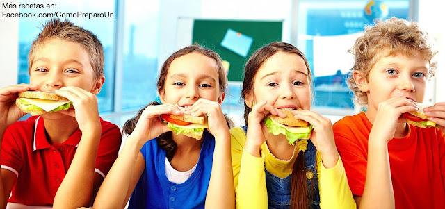 COMO PREPARAR LONCHERAS ESCOLARES PARA NIÑOS DE 2 A 5 AÑOS - LONCHERAS NUTRITIVAS