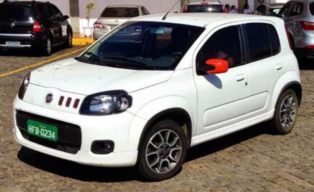 O novo modelo Fiat uno 2015