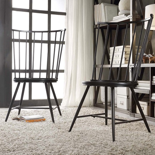Copy Cat Chic Crate And Barrel Riviera Black Tall Windsor