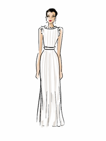 Alicia Vikander Dress Illustration