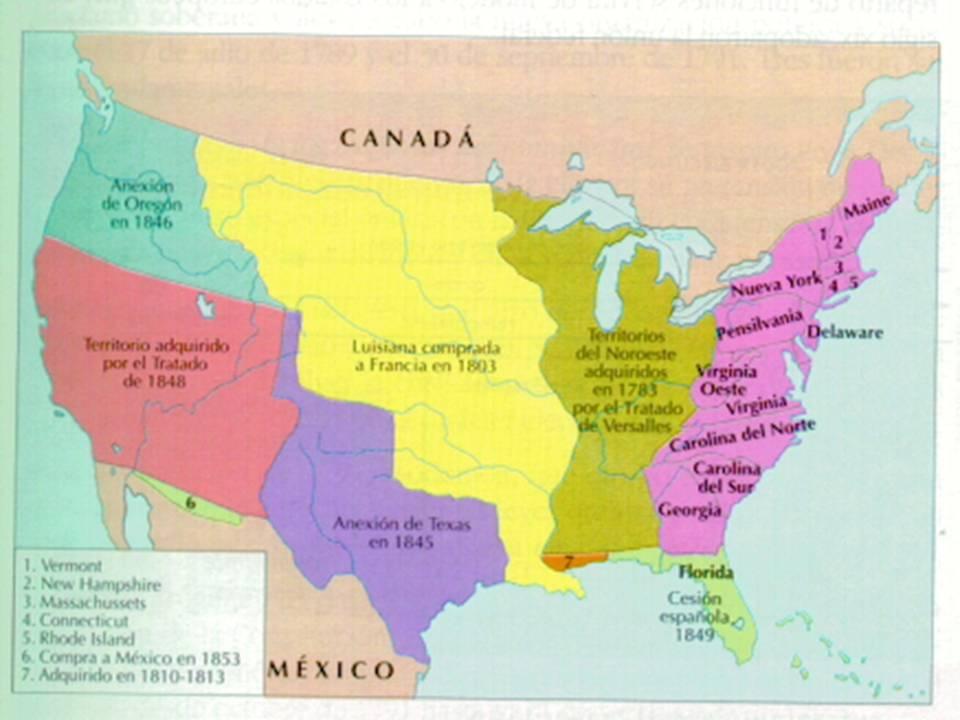 clasehistorias: La expansi�n de EE.UU.