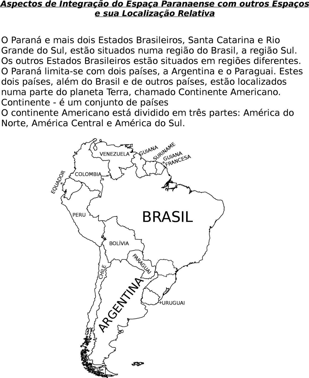ATIVIDADES DE GEOGRAFIA 1   AO 5   ANO ENS FUNDAMENTAL  19
