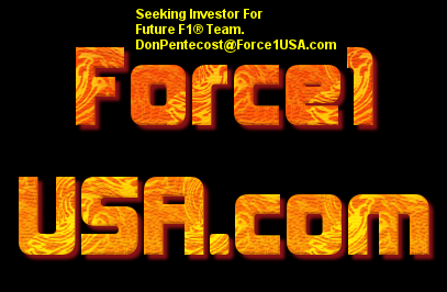 United States Formula 1 Sponsorship Needed