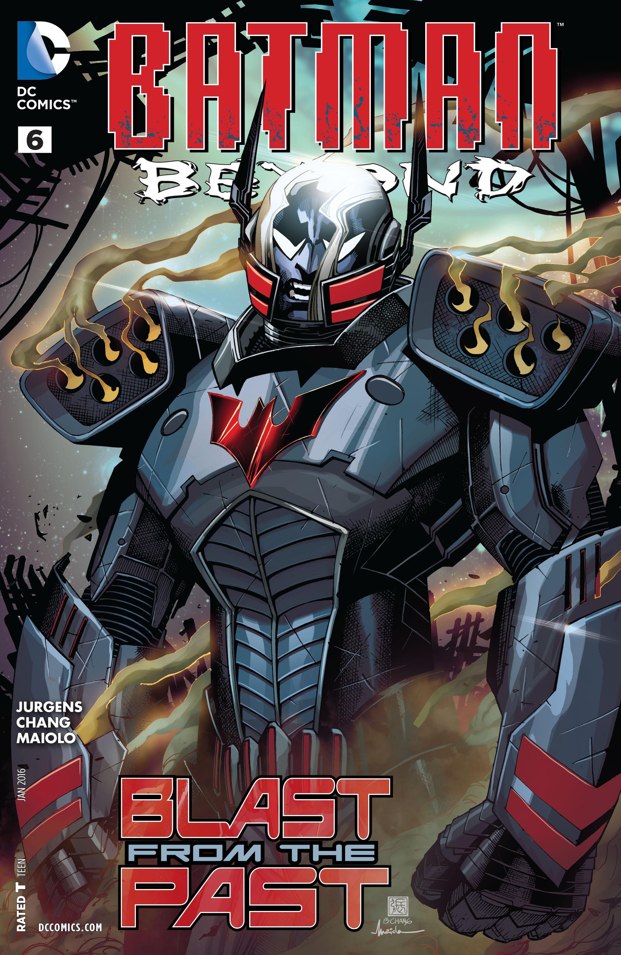 Batman Beyond (2015) Issue #6 #6 - English 1