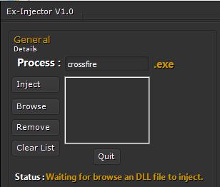 9i49sn CrossFire Ex injektör Hile indir