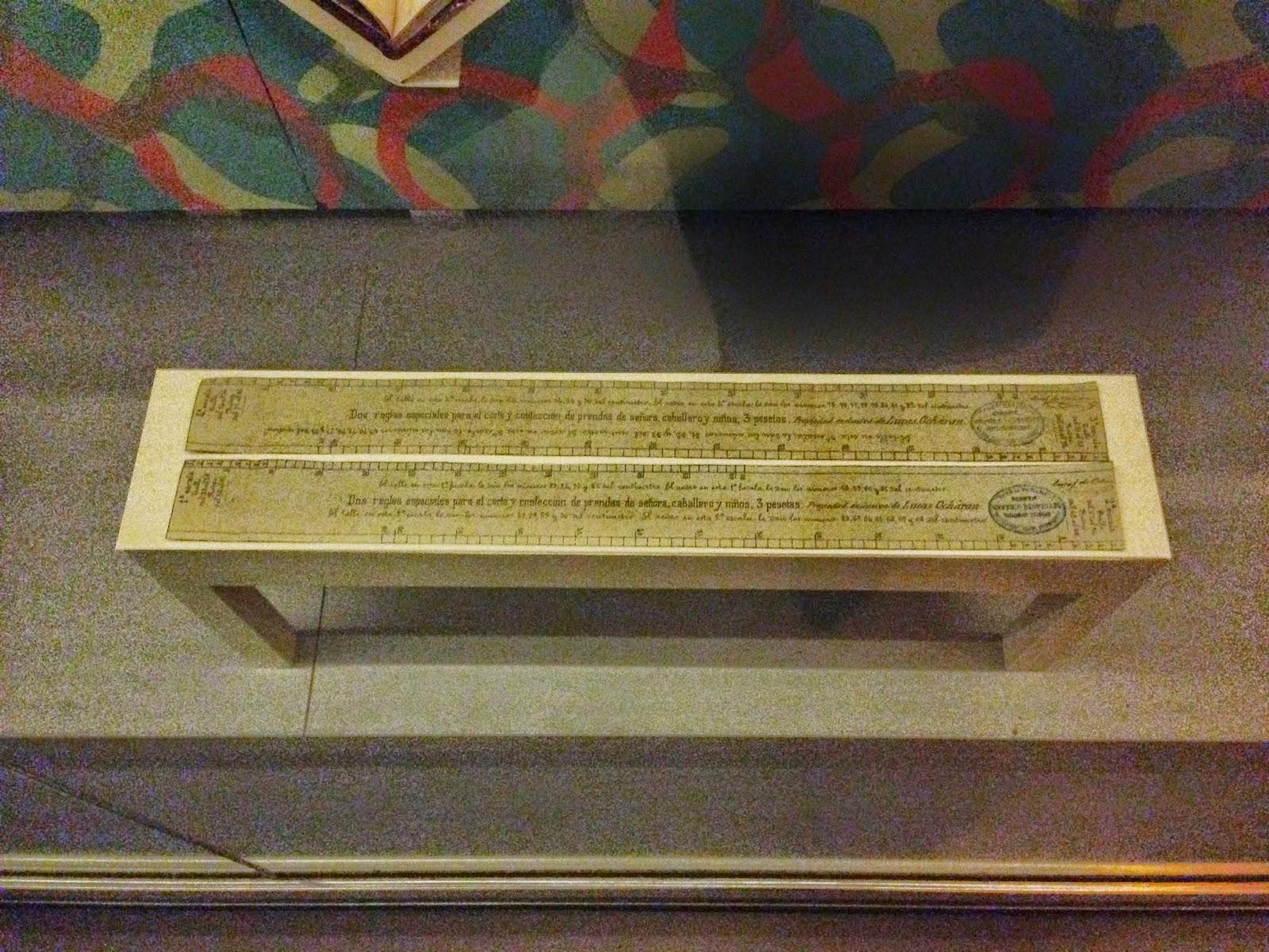 Algunos de los centímetros de la exposición de la Biblioeca Nacional