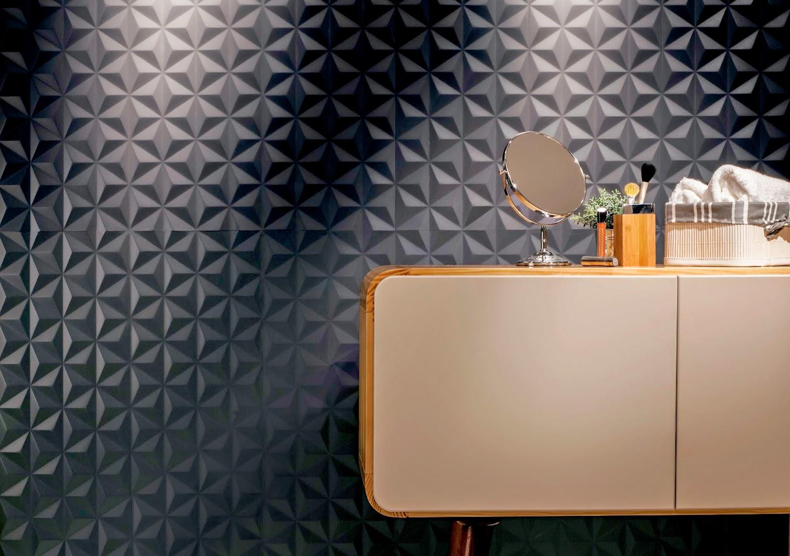 #A66625  com revestimento preto lançamentos 2015 da Cerâmica Portinari 1600x1125 px Banheiros Decorados Com Revestimento Portinari 1087