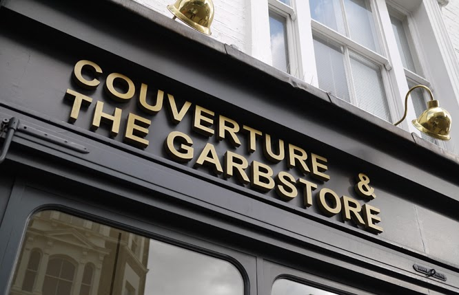 Couverture and the Garbstore in Notting Hill - wonderful independant boutique