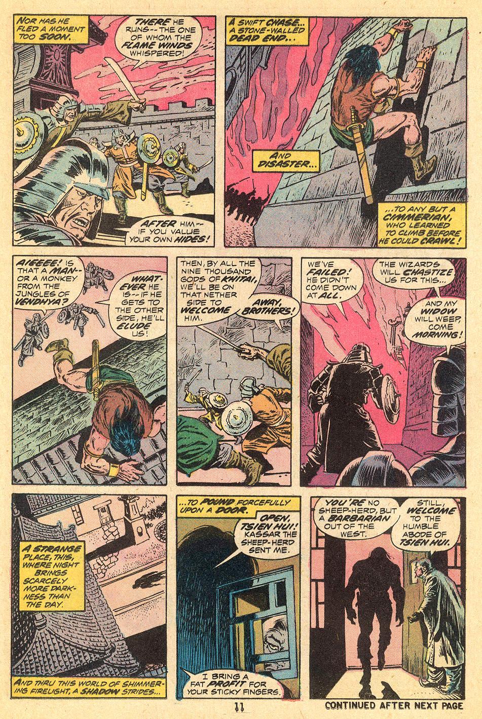 Conan the Barbarian (1970) Issue #32 #44 - English 8