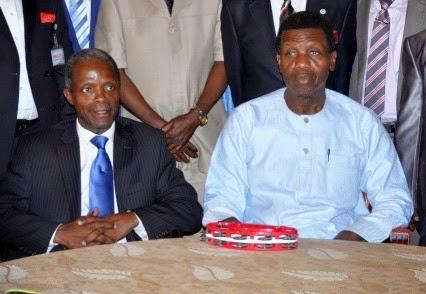 Osinbajo and Pastor Adeboye