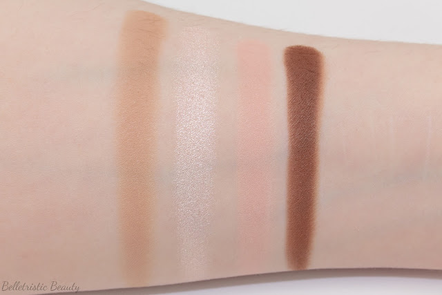 Guerlain Les Sables 15 Ecrin 4 Colors Quad Eyeshadow Palette swatches, Kiss Kiss Collection, Fall 2014