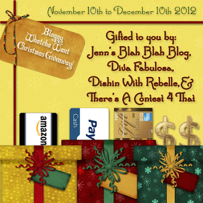 Bloggy Whatcha Want Christmas Giveaway