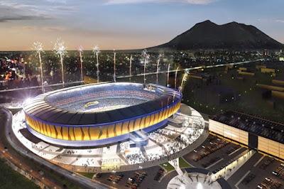 Nuevo estadio de Tigres