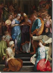 Le Mariage de la Vierge de Rosso Fiorentino