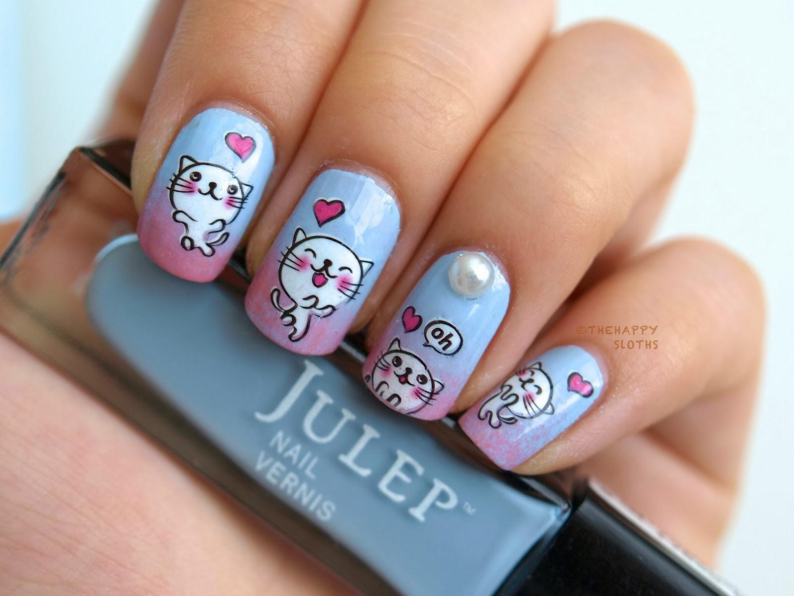 Дизайн ногтей love is фото