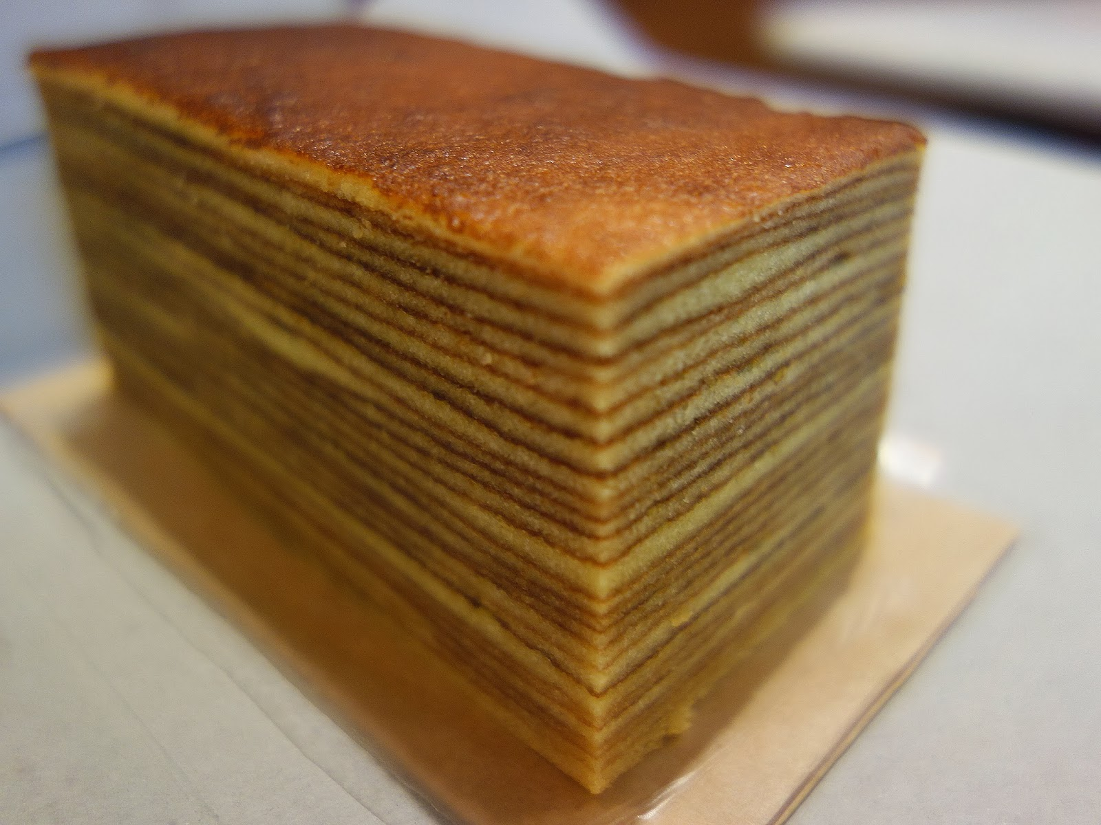 Indonesian Thousand Layer Cake Recipe