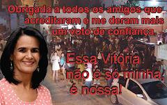 """Vereadora Rose de João Grilo:""""OBRIGADO SERRINHA"""""""