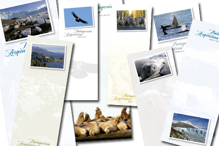Anotadores Magnéticos de la Patagonia - Magnetic Notepads of the Patagonia - Andrés Bonetti