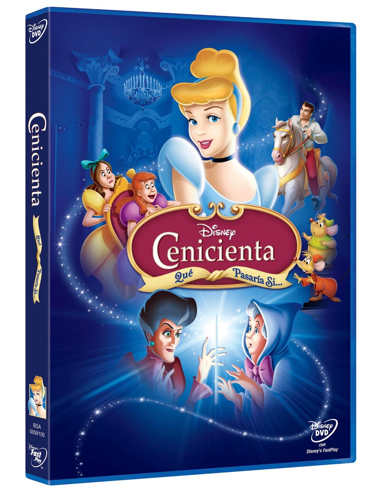 Informemos de disney listado lanzamientos dvd y blu ray de septiembre - Pelicula cenicienta disney ...