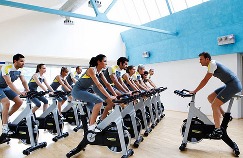 indoor cycling: