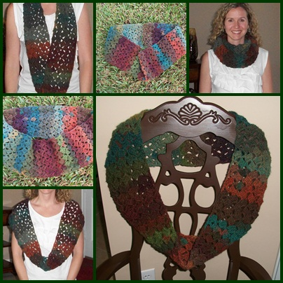 The Florida Crochet Garden: Never-ending Scarf Pattern and ...