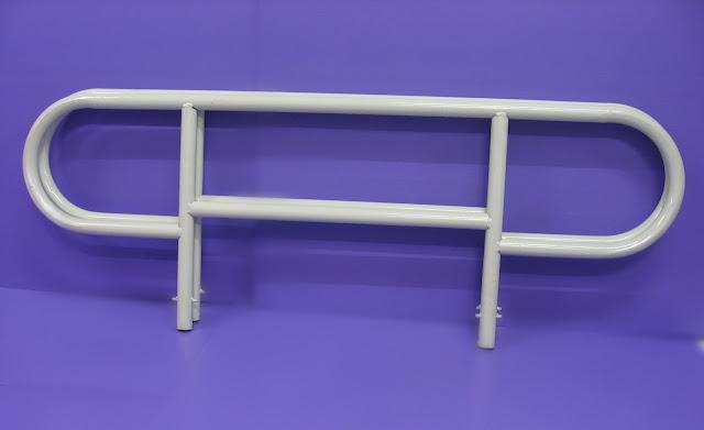 8. Steel side rails 鐵護栏