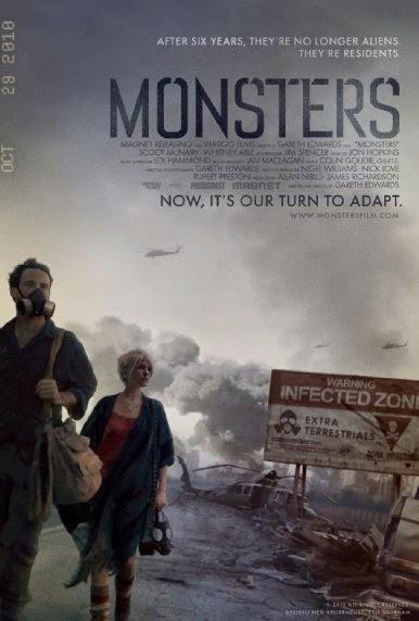 Phim Tâm Lý - Tình Cảm Quái Vật - Monsters - 2010