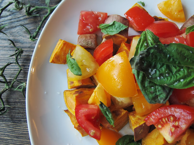 Sweet Potato & Tomato Salad
