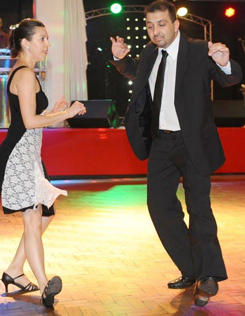 Bailando a una Milonga