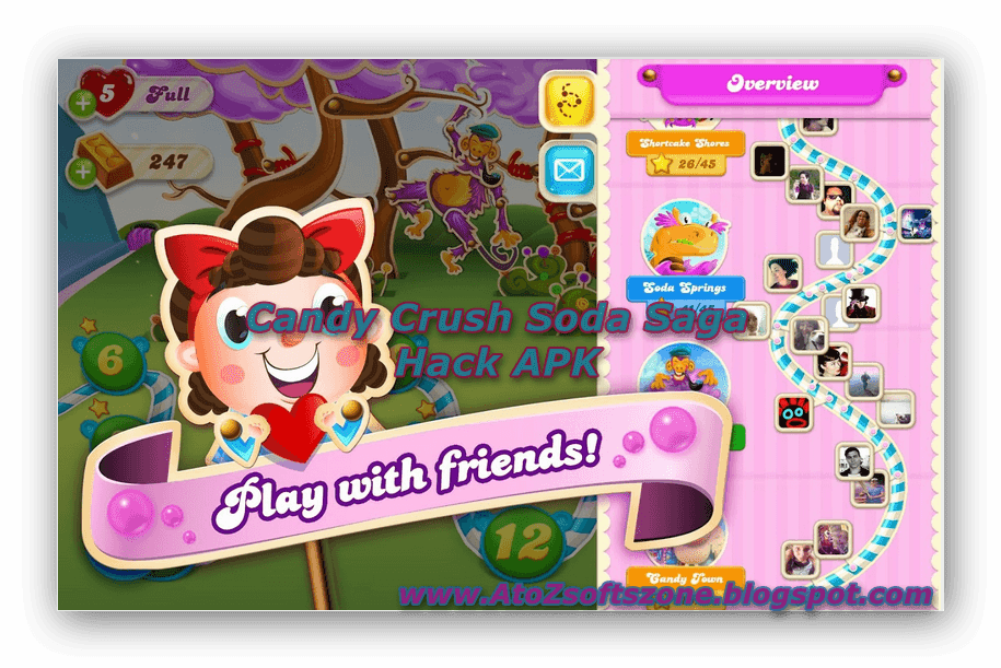 candy crush saga cracked apk no survey direct
