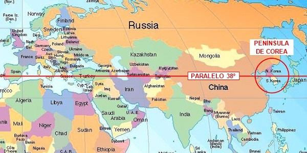 A ver que yo me entere: ¿De dónde sale Corea del Norte?