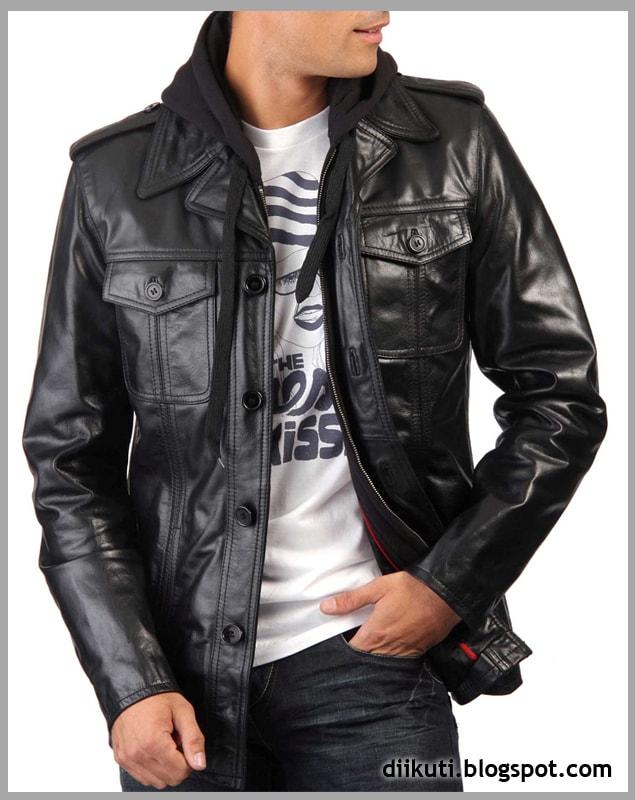 model jaket kulit remaja cowok keren dan trend tahun 2015